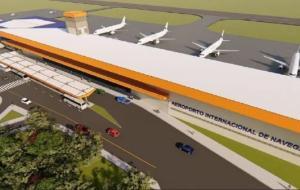 Novo terminal de Navegantes (SC) vai trazer mais conforto e segurança aos passageiros
