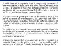 Havan se posiciona contra a Globo