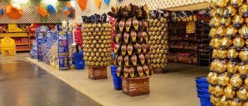 Lojas Havan abrem, a partir deste sábado, para a venda de chocolates