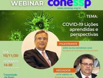 Conessp convida presidente da FenaSaúde para webinar sobre lições deixadas pela covid-19 e perspectivas para o futuro