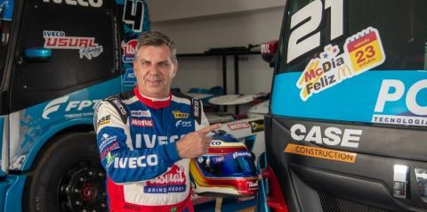 Instituto Ronald em parceria com Iveco Usual Racing e com o piloto Djalma Pivetta ampliam alerta sobre o câncer infantojuvenil