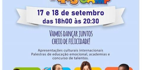 """Acampamento Global paraCrianças – """"Global Kids Camp"""""""