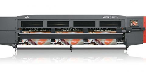 Versatilidade de EFI VUTEk GS5000r garante ampla diversidade de produção