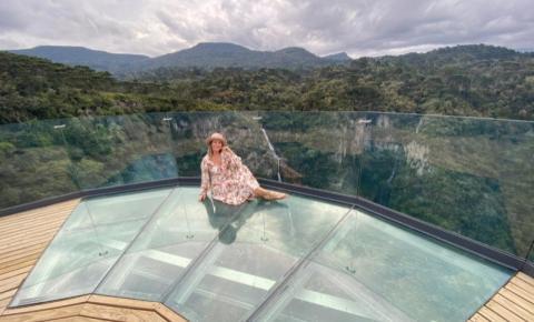 E Urubici ganhou um novo parque turístico em 2020: Cachoeira Papuã!