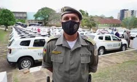 Comandante Geral da Brigada Militar CEL. Vanius Cesar Santarosa  - Novo herói? -