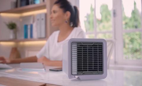 Prós e Contras: Mini Ar Condicionado Pode Ser Vendido no Calor
