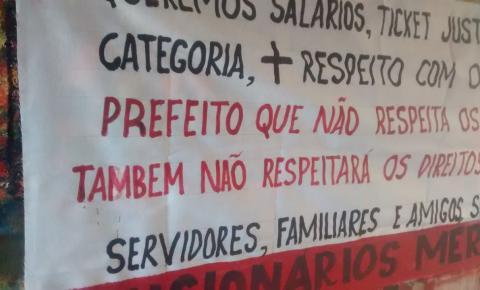 Servidores de Tupã estão unidos e a greve parece ser inevitável
