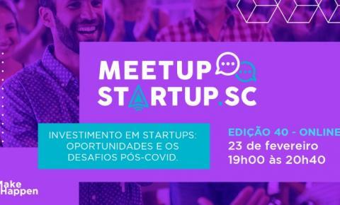 Investimento em startups no pós-pandemia é tema em evento gratuito do Startup SC