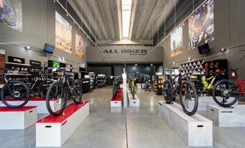 All Biker Bike Shop é a primeira loja das marcas Caloi e Cannondale em Alphaville