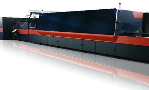 Passagem única de super alta velocidade: a solução jato de tinta mais rápida da EFI para gráficos de exibição é uma inovadora solução de produtividade
