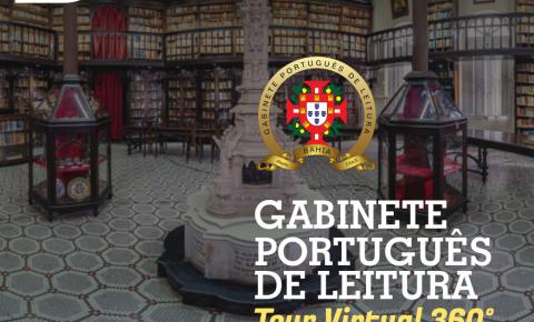Gabinete Português de Leitura comemora aniversário com tour virtual em formato 360º