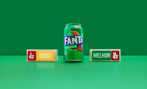 """Fanta Guaraná lança ação """"Igual ou melhor"""""""