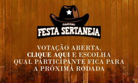 Vitor Souza está na final do Capital Festa Sertaneja