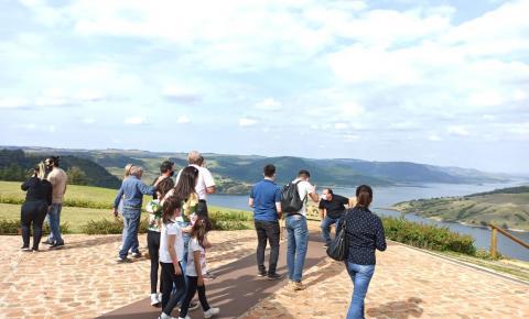 Visita técnica da Atunorpi ressalta relevância turística em Ribeirão Claro