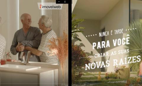 """Imovelweb coloca no ar novos vídeos da campanha """"Nunca é tarde"""""""