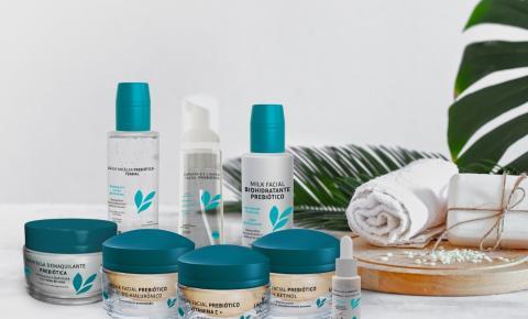 Marca de cosméticos busca revolucionar o mercado com biotecnologia prebiótica inovadora