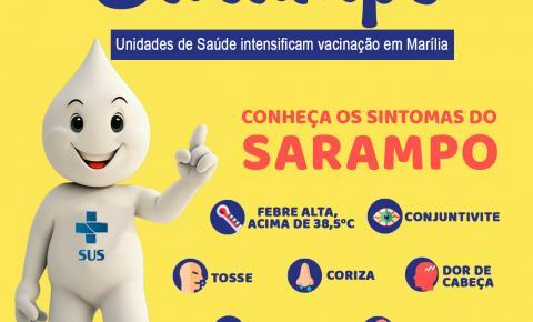 Marília: Sarampo avança com cinco casos confirmados