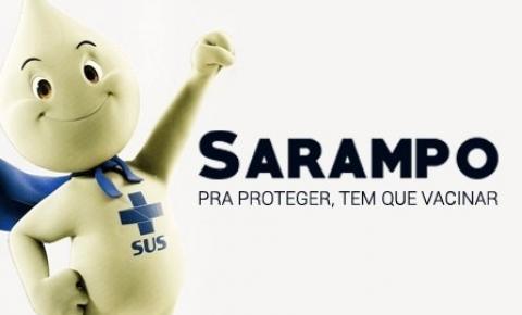 Ribeirão das Neves contra o SARAMPO