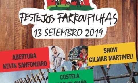Setembro será com festas em comemoração a Revolução Farroupilha