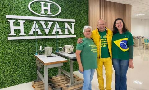 Havan doa máquinas de costura para projeto social de Bombinhas