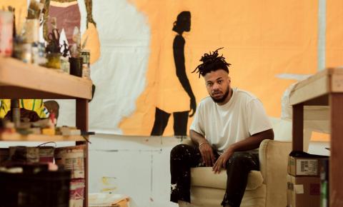 Casa Vogue apresenta a arte de Maxwell Alexandre