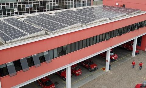 Bombeiros Voluntários de Joinville adotam energia fotovoltaica com doação da associação empresarial