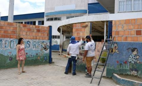 Iniciam reformas das Unidades Escolares e CMEIs em Itapema