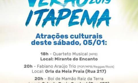 Itapema oferece diversas atividades no Projeto Verão Itapema 2019