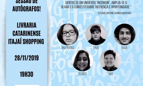 """Livro """"O Mundo das Letras e dos Sons"""" será lançado em Itajaí"""