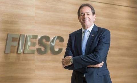 Presidente da FIESC palestra em Joinville na segunda-feira