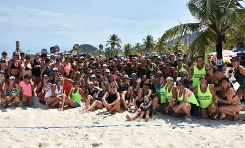 Maior torneio de Beach Tennis do mundo só para mulheres acontece neste fim de semana