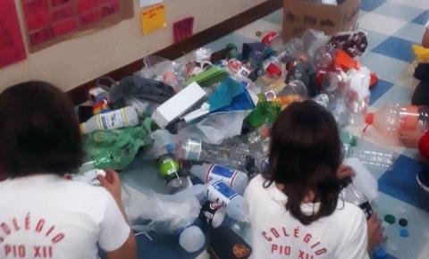 Colégio Franciscano Pio XII reduz uso de copos plásticos e recebe homenagem da ONU