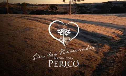 Dia dos Namorados com almoço na Vinícola Pericó