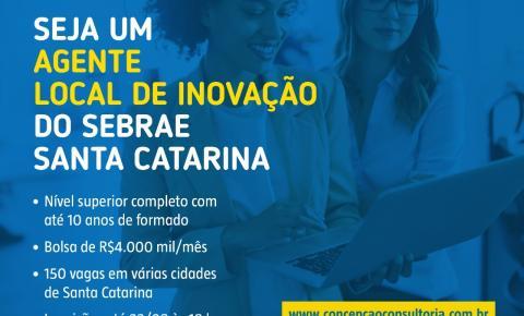 Sebrae/SC selecionará profissionais para projeto de inovação na região da Foz do Itajaí