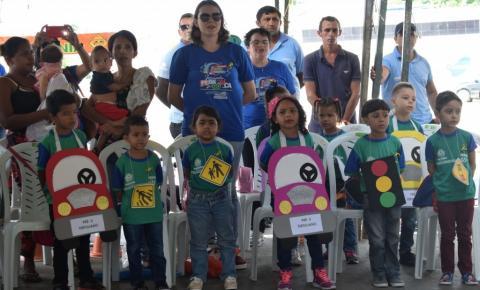 Secretaria de Educação e PRF promovem festival estudantil de trânsito