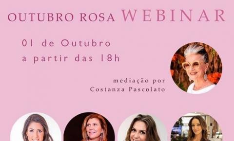 Daqui a pouco começa a live da Intimissimi em apoio ao Outubro Rosa