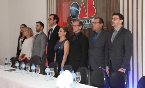 Presidente da OAB/SC conduz cerimônia de posse de nova diretoria da Ordem em Camboriú