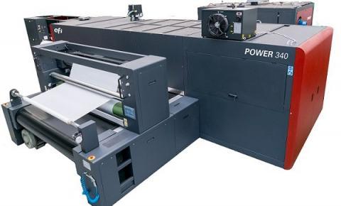 Novas impressoras EFI POWER e COLORS de alto volume criam oportunidades de lucro em comunicação visual em tecido