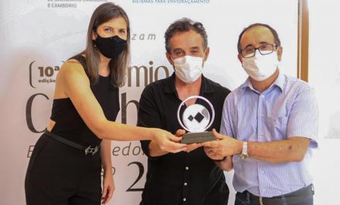 Acibalc homenageia 39 empreendedores da região durante a 10ª edição do Prêmio Cambori