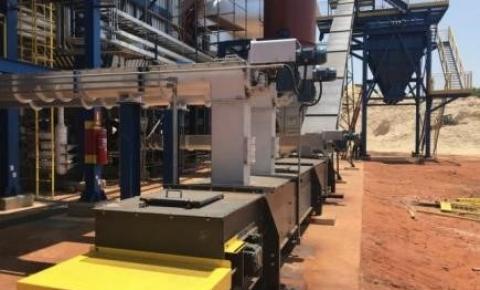 Becker inova com transportador de corrente tipo redler fabricado com aço Hardox®