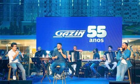 Gazin promove live histórica de Daniel e Jorge & Matheus  com 1,4 milhão de views no YouTube