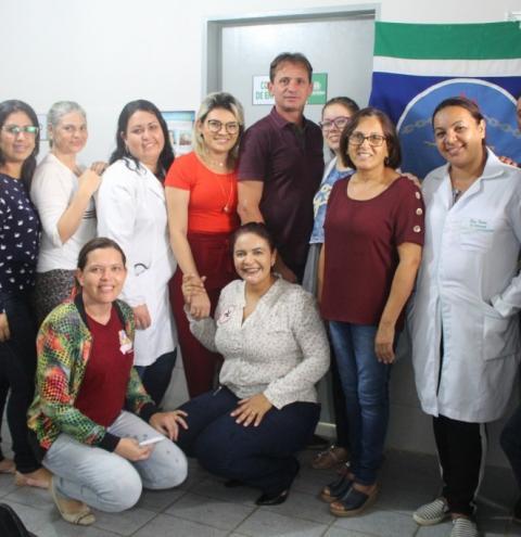 Prefeito inaugura unidade âncora de saúde dos Ferraz e entrega ambulância á população do ligeiro