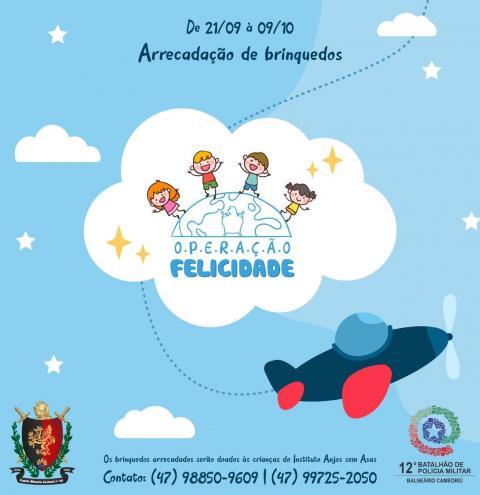 Campanha arrecada brinquedos em Balneário Camboriú
